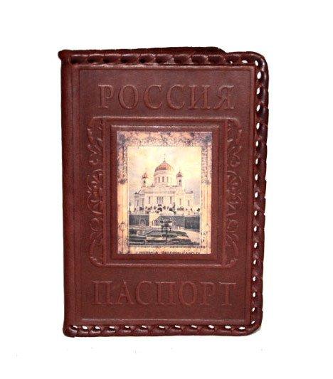 Обложка для паспорта «Спаси и Сохрани» Макей 009-08-М81