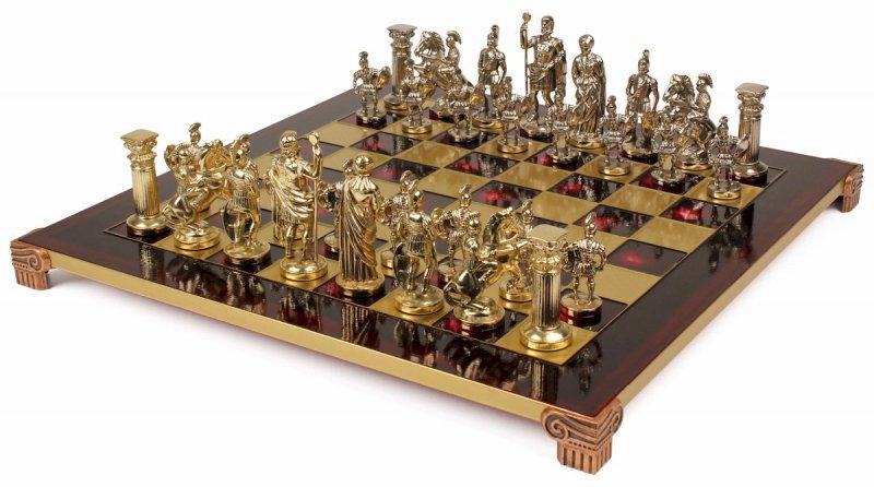 Шахматы металлические Греко-Романский Период MP-S-11-44-R