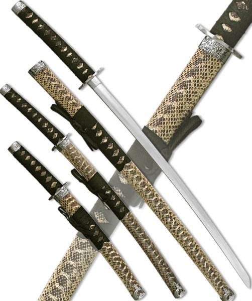 "Набор мечей самурайских ""Блеск солнца"" Armas del Mundo D-50009"