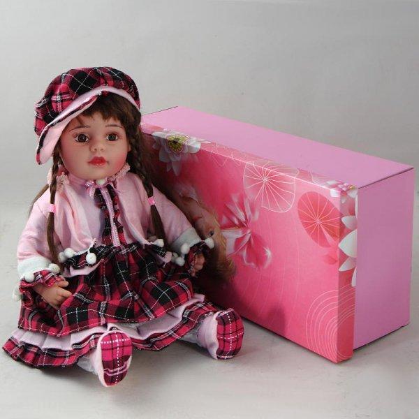 "Кукла декоративная виниловая ""Модница"" Prodoll PD-VD-22418"