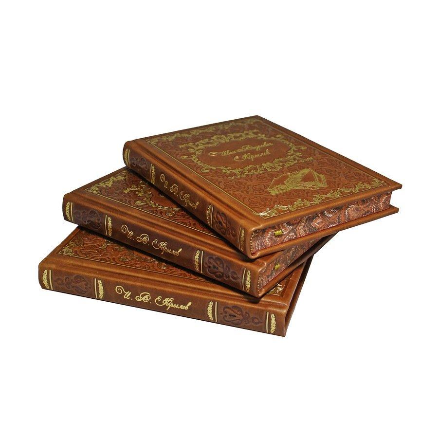 Крылов И.А. Собрание сочинений в 3 томах. сделано в России BG5051S