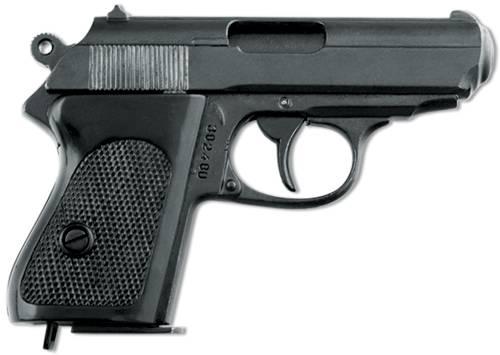 """Пистолет немецкий """"Ваффен-SSPPK"""" Denix DE-1277"""