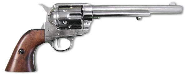 Револьвер, США, 1873 г., хром Denix DE-1107-NQ