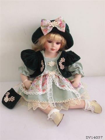"Кукла фарфоровая подарочная ""Христя"" DV-14037"