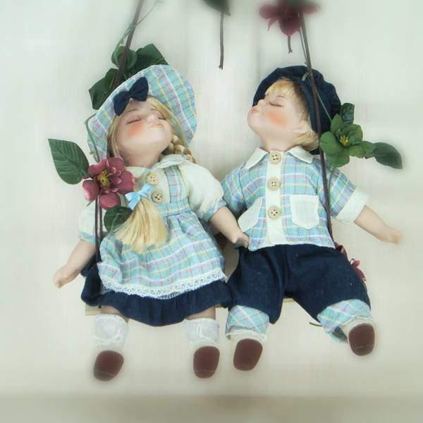 """Куклы """"Мартин и Марта"""" Polly Dolls YF-14161-162-G"""