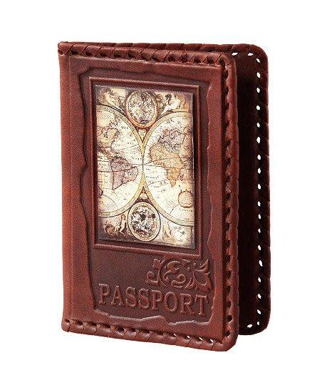 Обложка для паспорта «Мировое турне» Макей 009-08-03К