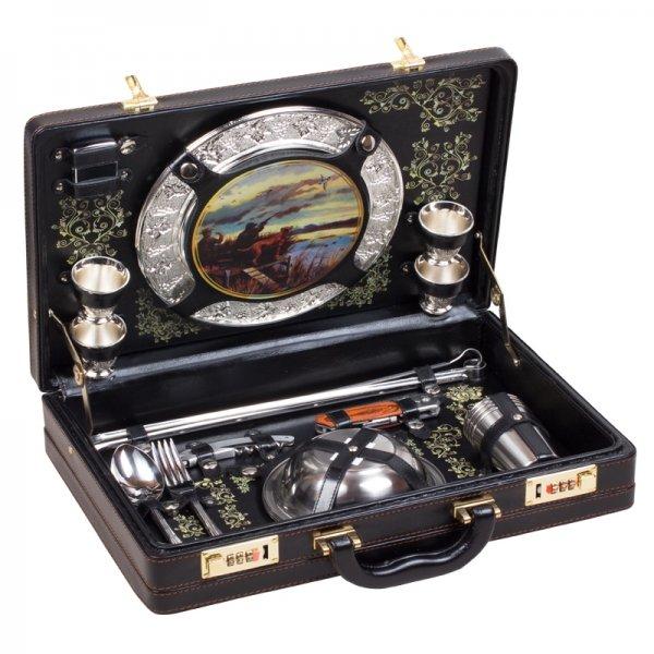 Подарочный набор для пикника «Туристический-2» (на 4 персоны) Аксо 128КИ4–2-П