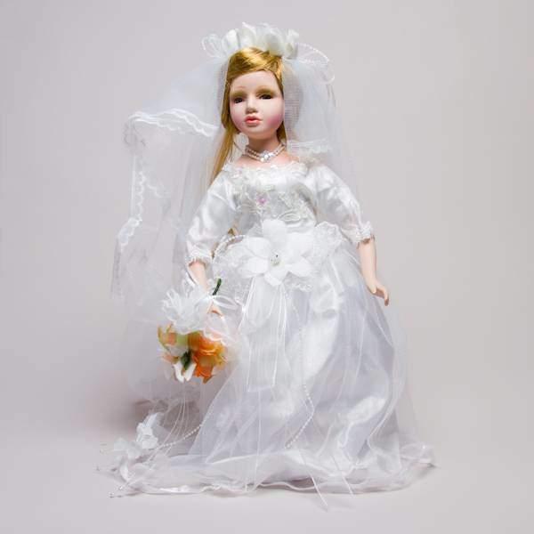 "Кукла -невеста фарфоровая ""Мэгги"", 40.5 см Polly Dolls YF-HM-164815"