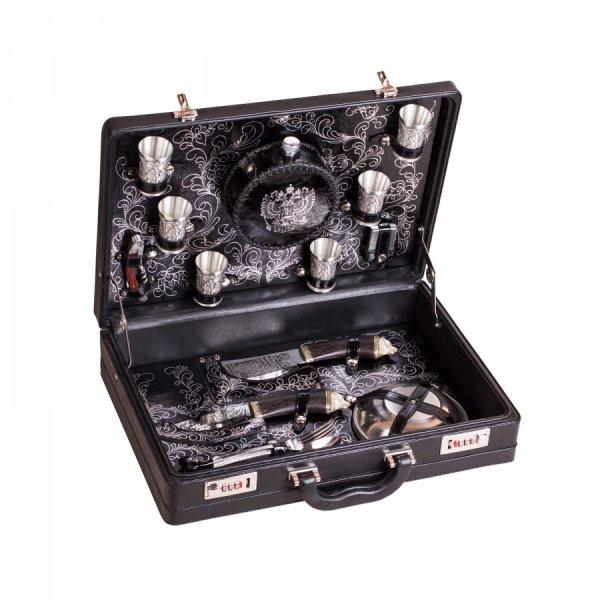 Подарочный набор для пикника «Элитный» (6 персон) Аксо 153КК6