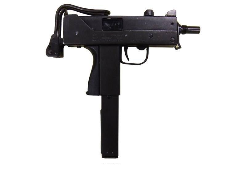 Автоматический пистолет МАС-11 Ingram,США 1972 г. Denix DE-1088