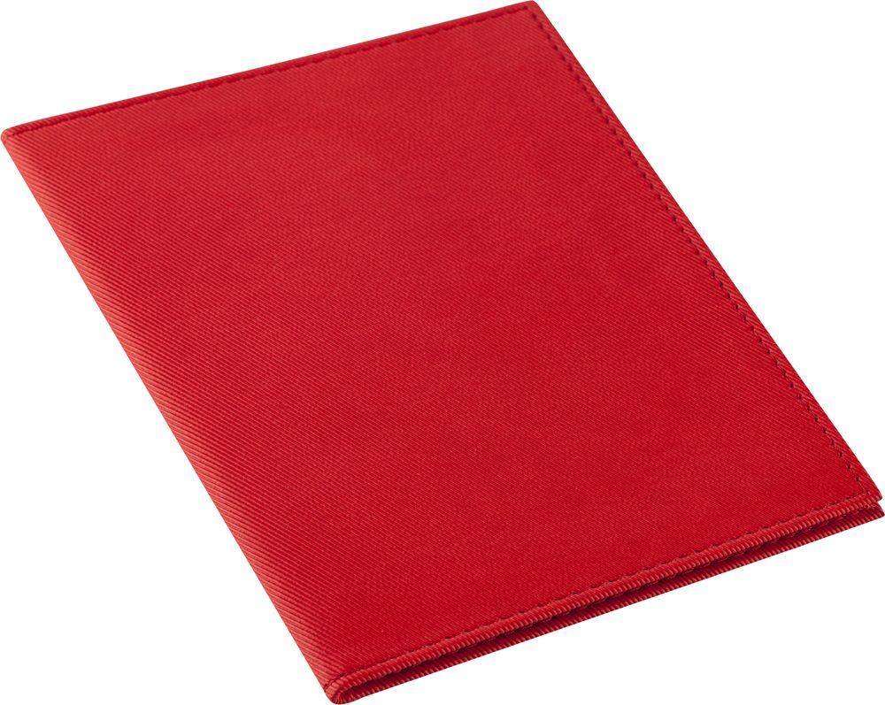 Обложка для паспорта Twill, красная сделано в России 6696.50