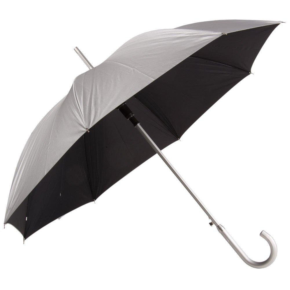 Зонт-трость Unit Silver, черный 4399.30