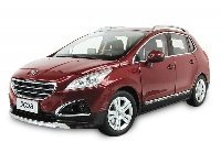 Peugeot 3008 2012 Red