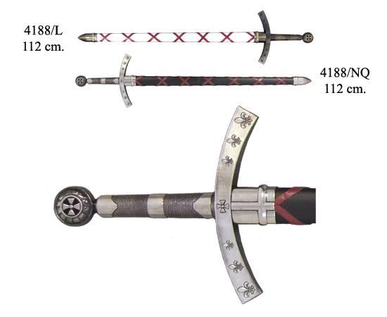 Меч Крестоносцев, Франция, 1-й крестовый поход Denix DE-4188-NQ