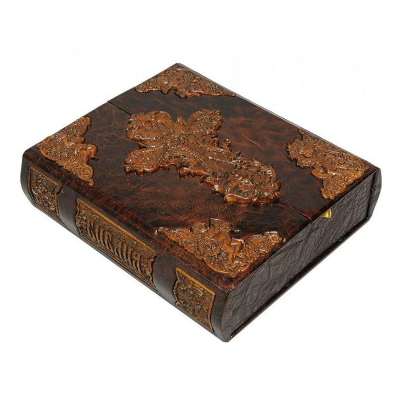 Библия (в коробе иконостас-складень с дер. вставками) сделано в России BG9993F