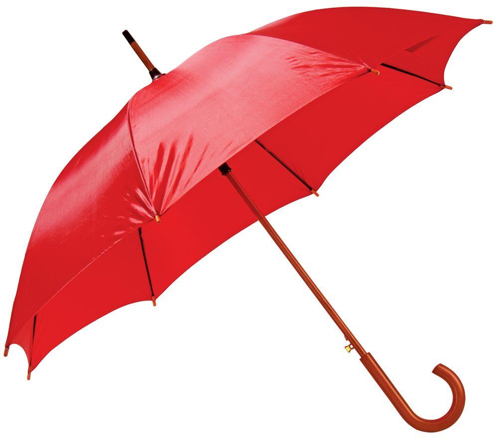Зонт-трость Unit Standard, красный 393.50