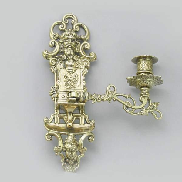 """Подсвечник настенный """"Янтри"""", на 1 свечу Alberti Livio AL-82-261"""