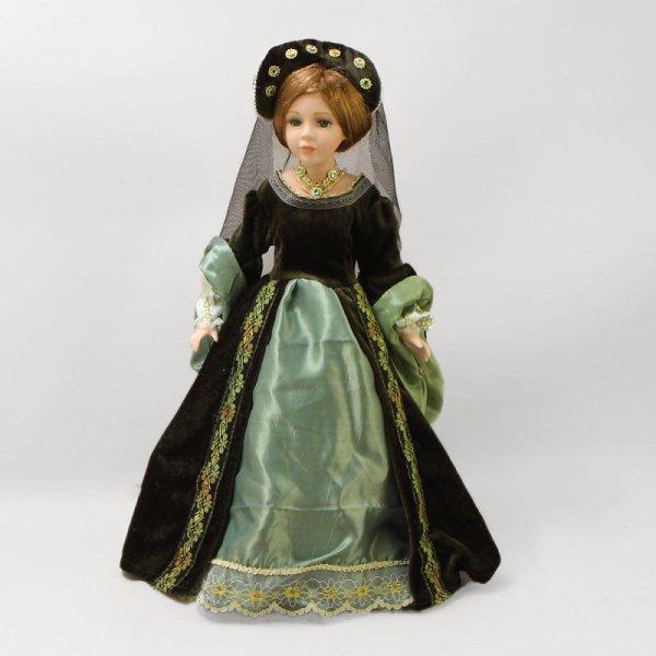 """Кукла фарфоровая """"Царица Тамара"""", 16"""" Polly Dolls YF-16820"""