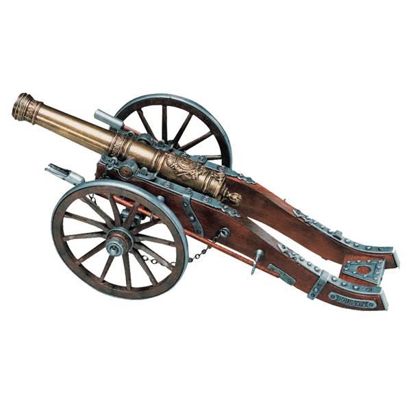 Пушка декоративная, Франция XIV в. Denix DE-404