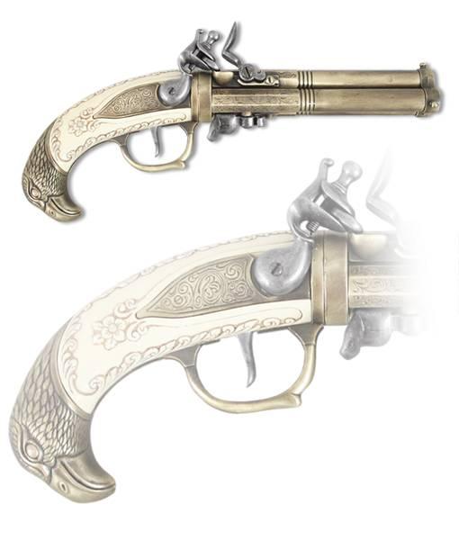 Пистоль трехствольный Kolser KL-1119-L