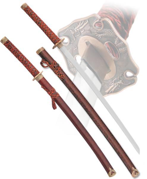 """Подарочный набор самурайских мечей """"Kenshin"""" Armas del Mundo D-50021-KA-WA-GB"""