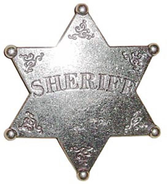 """Значок шерифа """"Запад"""" Denix DE-101"""