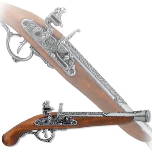 """Пистоль немецкий """"Победитель"""", XVII век Denix DE-1260-G"""