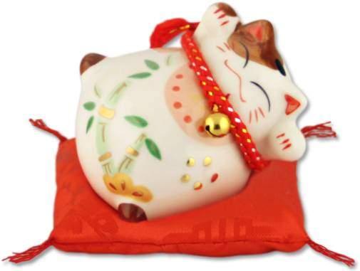"""""""Здоровья и Счастья!"""", Манеки-неко, белый кот-копилка Pak Lee YC-10778-A"""