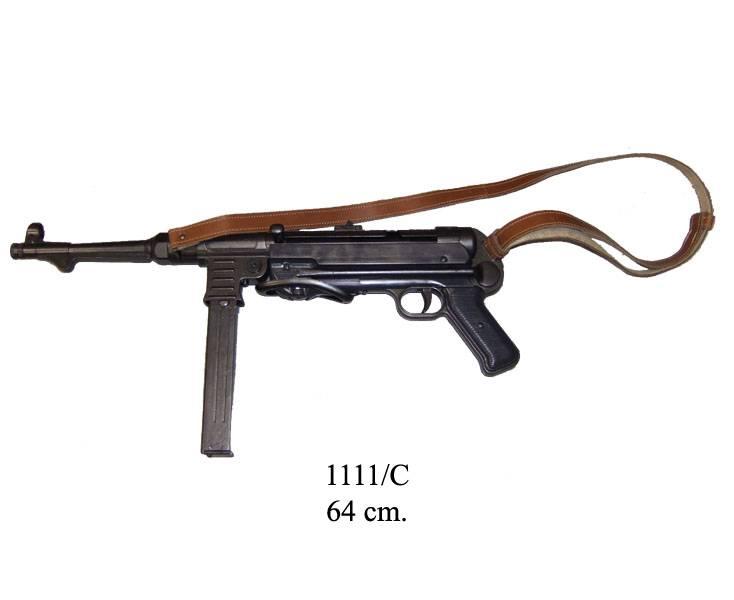 Автомат MP-40 с ремнем (Schmeisser-MP), Германия, 2-я Мировая война Denix DE-1111-C