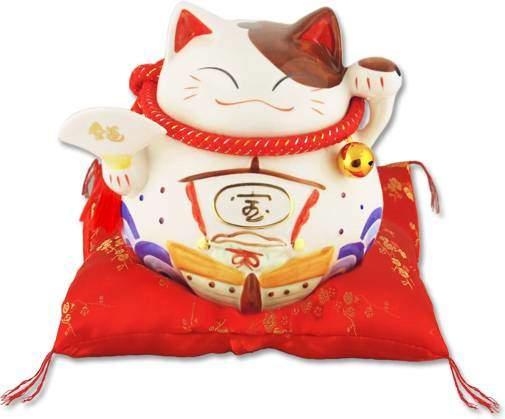 """Японский кот-копилка Манеки-неко """"Удача!"""" Pak Lee YC-10074-A"""
