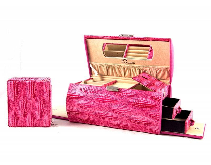 """Шкатулка для ювелирных украшений """"Pink tube"""" Calvani 83378"""
