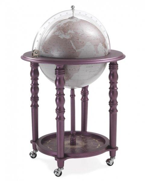 """Глобус-бар напольный """"Elegance"""" purple Zoffoli 928/WP"""