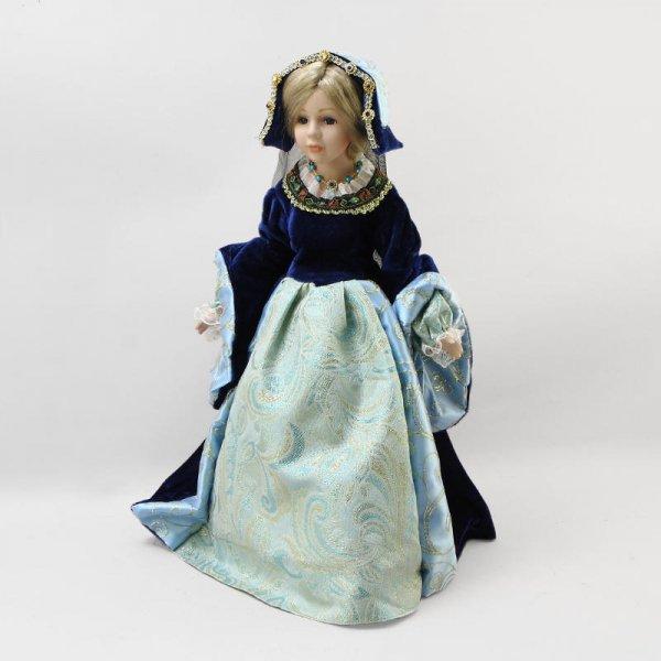 "Кукла фарфоровая ""Принцесса Гертруда"", 16"" Polly Dolls YF-16819"