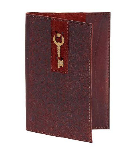 Обложка для паспорта «Золотой ключик» Макей 009-08-13