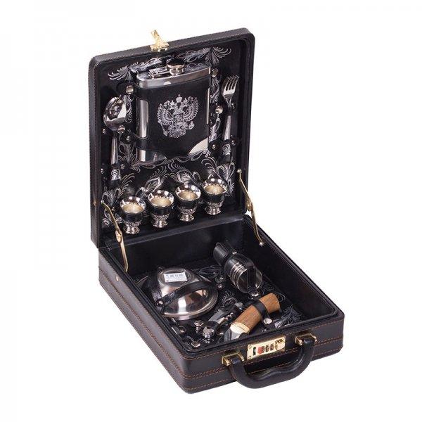 Подарочный набор для пикника«Коньяк» (4 персоны) Аксо 115КИ4