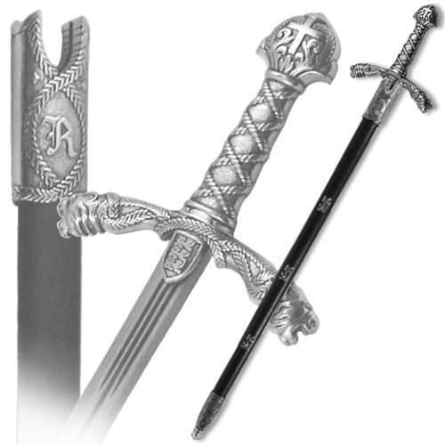 Меч Ричарда, в ножнах, 12 век, хром Denix DE-4125-NQ