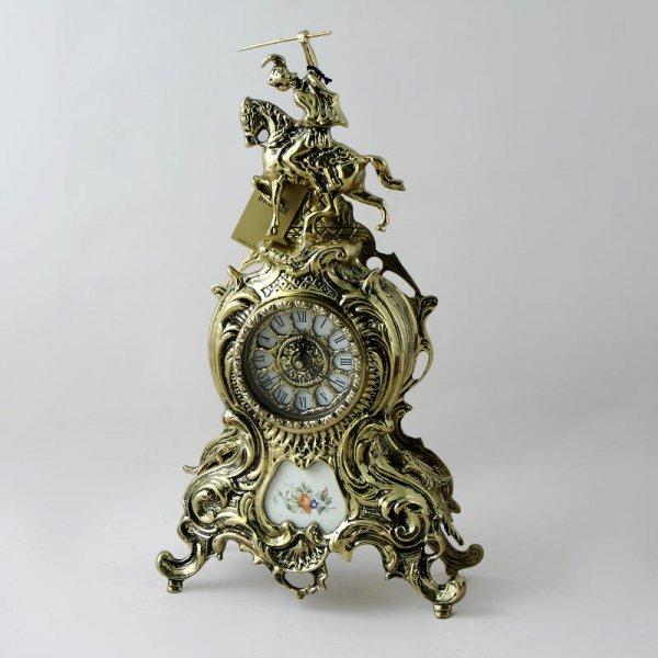 """Часы """"Дон Жоан"""" большие с керамикой, """"золото"""" Belo De Bronze BP-27049-D"""