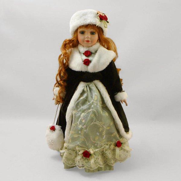 """Василиса"", кукла фарфоровая 16"" Polly Dolls YF-16561-H"