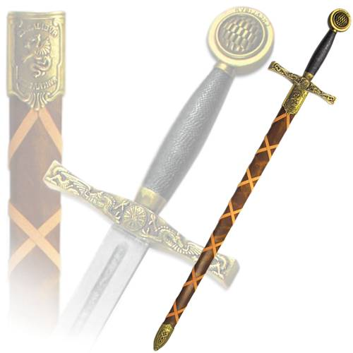 """Меч """"Эскалибур"""" Короля Артура в ножнах Denix DE-4123"""