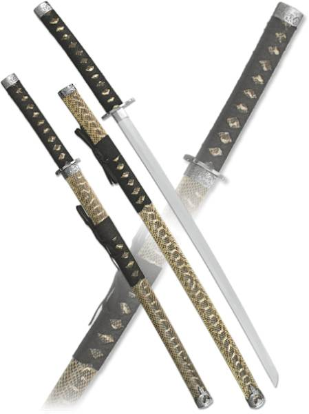 """Набор самурайских мечей """"Блеск солнца"""" Armas del Mundo D-50009-KA-WA"""