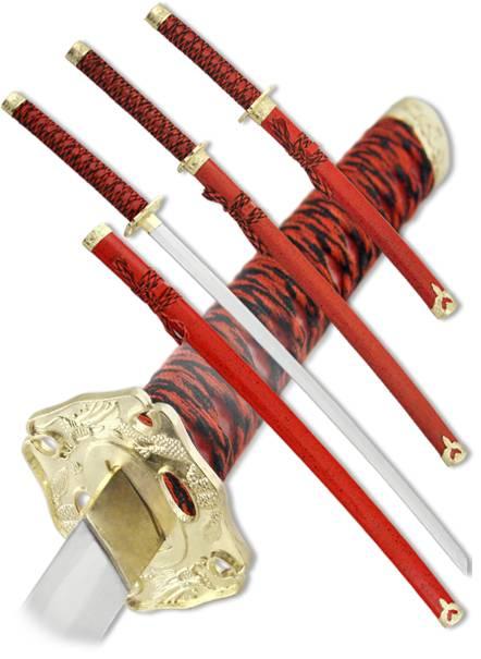 """Набор самурайских мечей """"Кимико"""" Armas del Mundo D-50020-YL"""