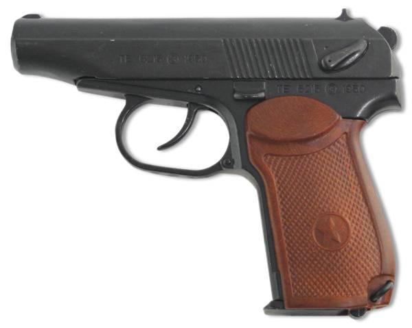 Макет пистолета Макарова, СССР, образец 1948 г. Denix DE-1112