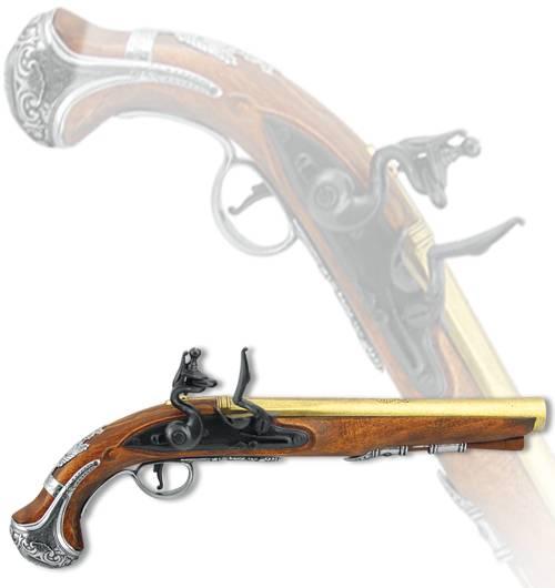 Пистоль англ. ген. Вашингтона, XVIII век Denix DE-1228
