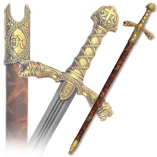 Меч Ричарда, в ножнах, 12 век Denix DE-4125-L