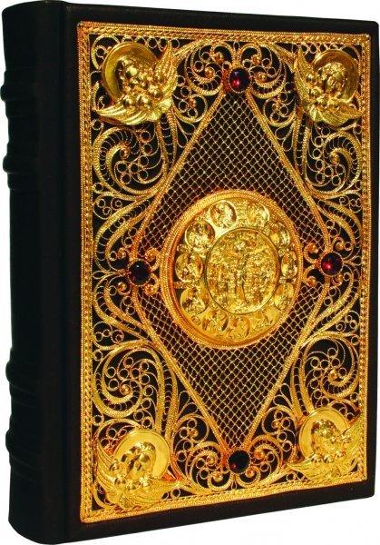 Православный Молитвослов (эксклюзивное подарочное издание) золото livegifts 029(фз)
