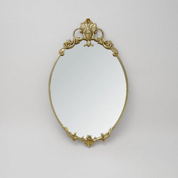 """Зеркало настенное из латуни """"Регина"""" Alberti Livio AL-82-172"""