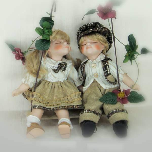 """Куклы """"Карл и Клара"""" Polly Dolls YF-14159-160-G"""