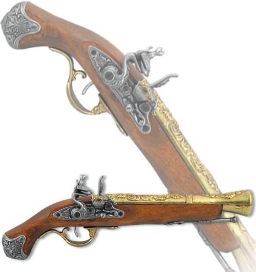 "Пистоль английский ""Кокберн"", XVIII век Denix DE-1219-L"