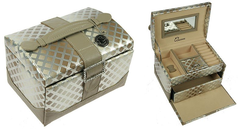 """Шкатулка для ювелирных украшений """"Silver box"""" Calvani 83390"""