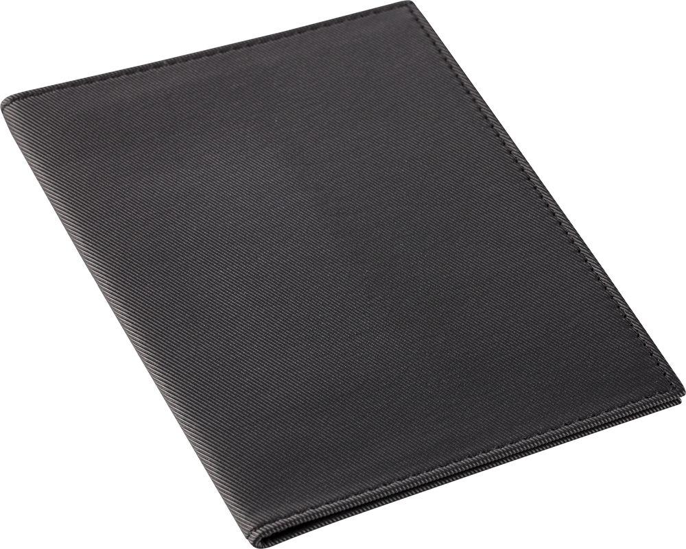 Обложка для паспорта Twill, черная сделано в России 6696.30